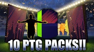 10 PATH TO GLORY PACKS! WALKOUT!! FIFA 18 ULTIMATE TEAM