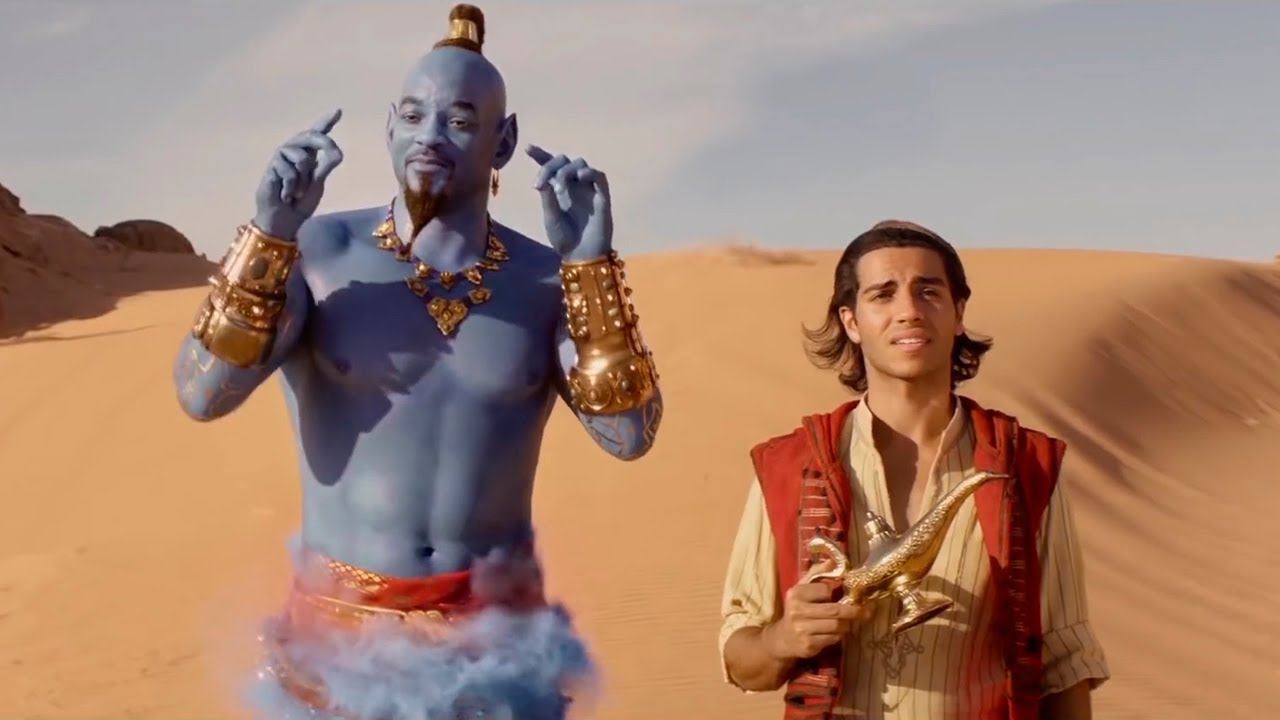 From YouTube - Aladdin film