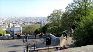 Париж: прогулка к Секре-Кёр. май 2013(Куда пойти в день приезда в Париж? Для себя мы решили посетить холм Монмартр, а точнее подойти к Секре - Кёр...., 2013-05-29T06:55:10.000Z)