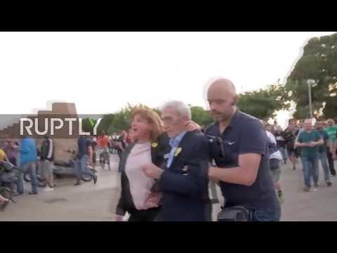 Greece: Nationalist mob beats Thessaloniki mayor