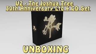 U2 - THE JOSHUA TREE - 30th Anniversary Ltd 4 CD Set - UNBOXING