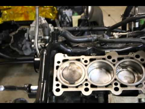 audi b5 s4 2 7t single turbo engine assembly youtube. Black Bedroom Furniture Sets. Home Design Ideas