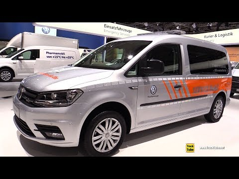 2019 Volkswagen Caddy Maxi Kombi Service Vehicle - Walkaround - 2018 IAA Hannover