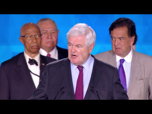 Newt Gingrich speech at #FreeIran2018 Rally in Paris 30 June 2018