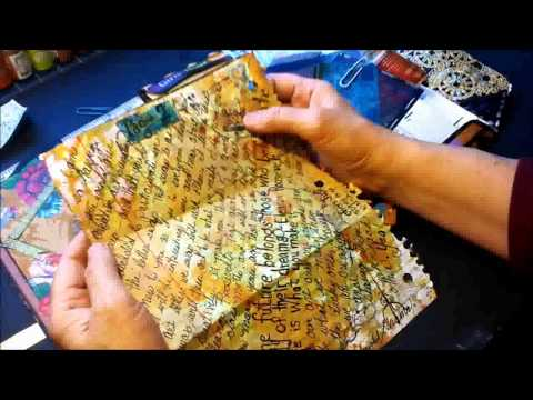 Letter Art Journal, a Swap Project