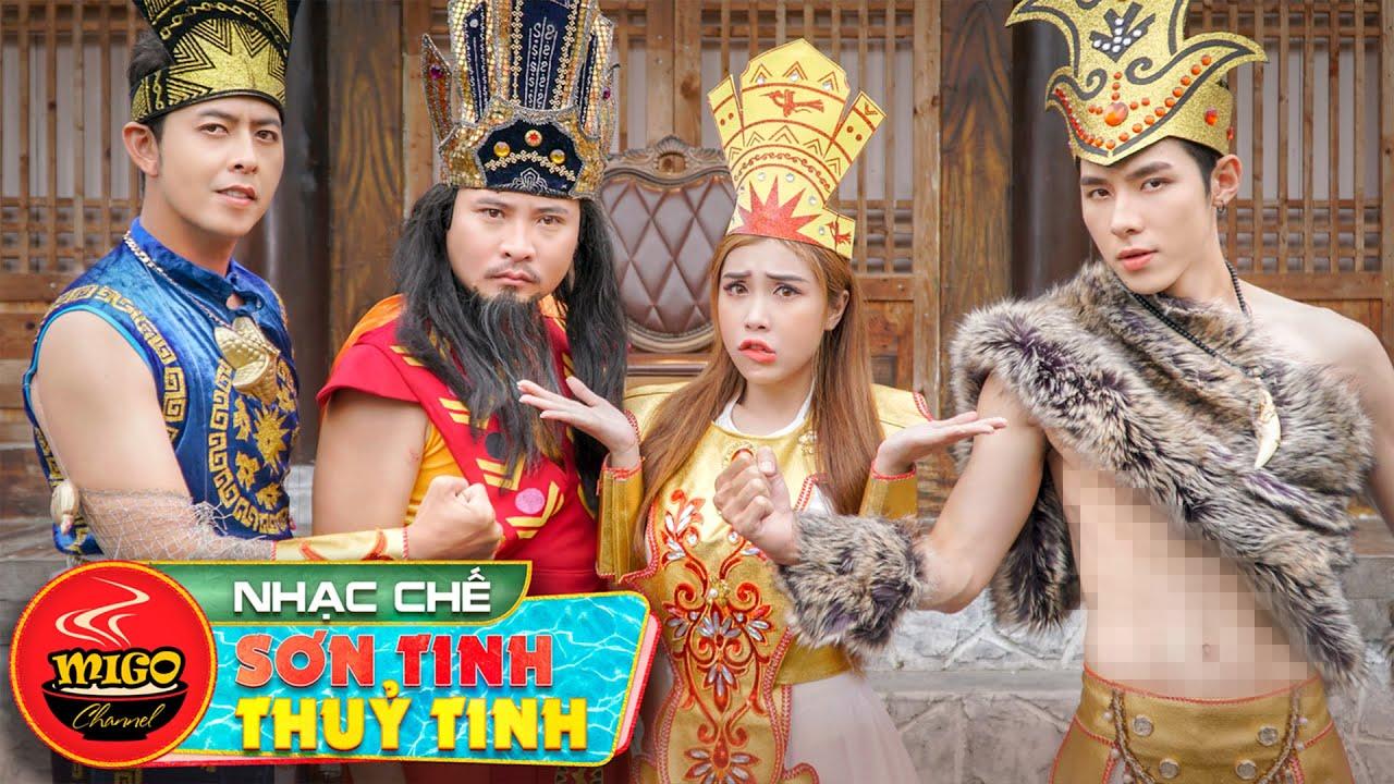 KING OF RAP VIỆT : Sơn Tinh Rap Chiến Thuỷ Tinh | Nhạc Chế 2020 | Rap Việt Mới Nhất Ghiền Mì Gõ