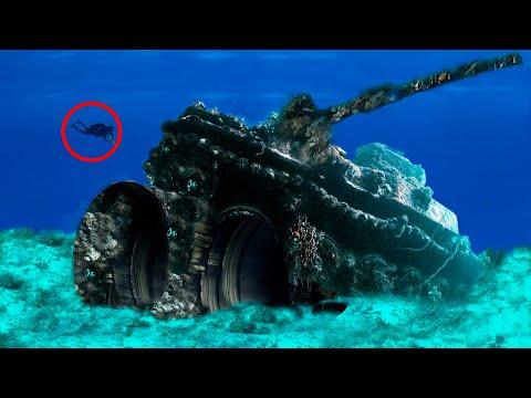 Top 9 STRANGEST Things Found In The Ocean!