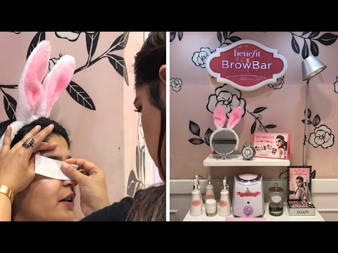 Brow Waxing & Styling 101 with Benefit | Everything You Need To Know About Waxing Your Eyebrows!