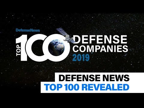 The Defense News Top 100 Defense Companies Revealed