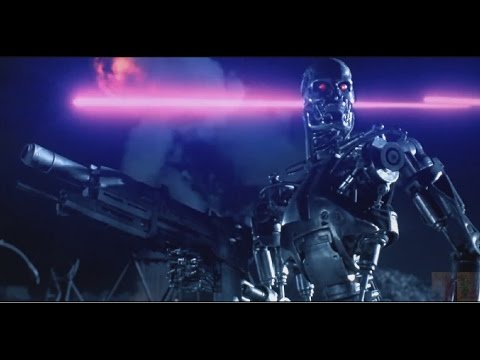 Terminator 2: Judgment Day - The Resistance vs Skynet (Opening Battle of Movie) 1080p