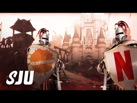 Netflix Fires Back At Disney+ | SJU