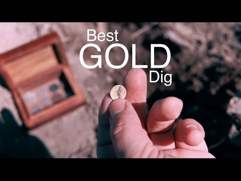 Metal Detecting Buried GOLD on the Farm! Find of a Lifetime.