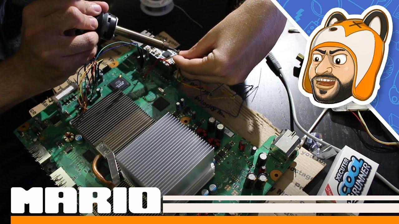 Lets Make A Rgh 12 Jasper Xbox 360 Youtube Inside Diagram Slim Motherboard