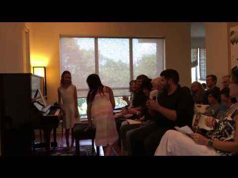 Celia and Lenny home concert, June 18, 2016