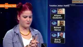 Kim milyoner olmak ister 30 aralık 2014 Su Serçe 415. bölüm