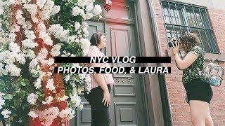 nyc photos food laura 🏙 vlog 004 jenna clare