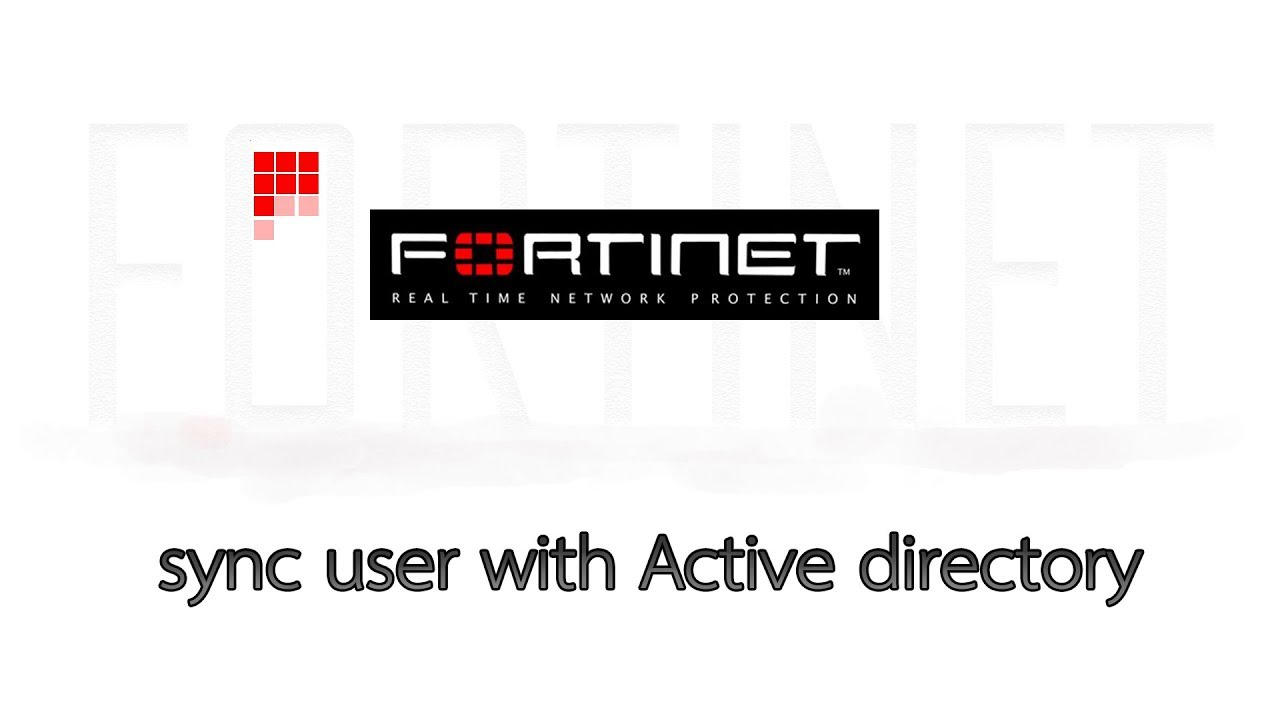 Fortigate Firewall 5 6 sync user with Active directory