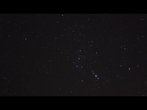 Orionid Meteor Shower,  Saint Cloud,  MN 10/19/2015
