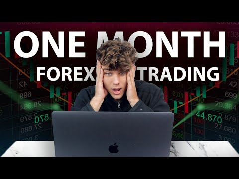 How Much I Made First Month Trading Forex