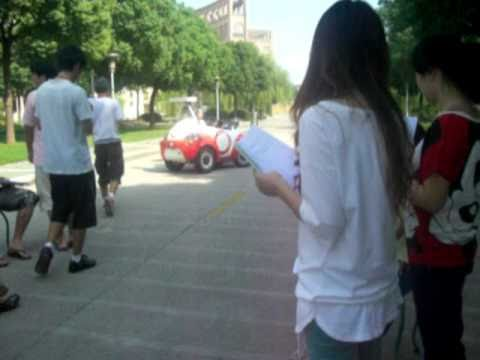 Soft Car Experiment at Shanghai Lixin University of Commerce