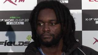 "Ewerton Teixeira's Post-Fight interview of """"FieLDS K-1 WORLD GP 20..."