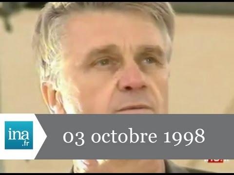 JT Antenne 2 20h émission du 3 octobre 1998 - archive vidéo INA