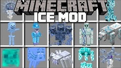 Minecraft ICE MOBS MOD / SURVIVE THE FROZEN LANDS WITH DANGEROUS MOBS!! Minecraft