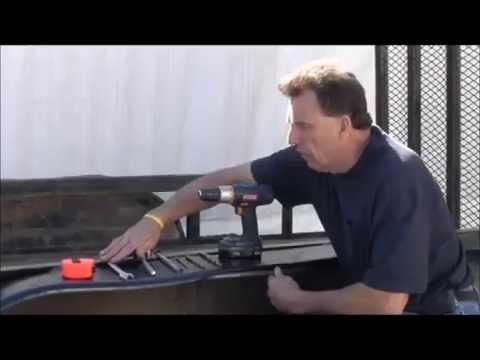 Open Trailer Tailgate Assist RA27C Rack/'em Double Barrel