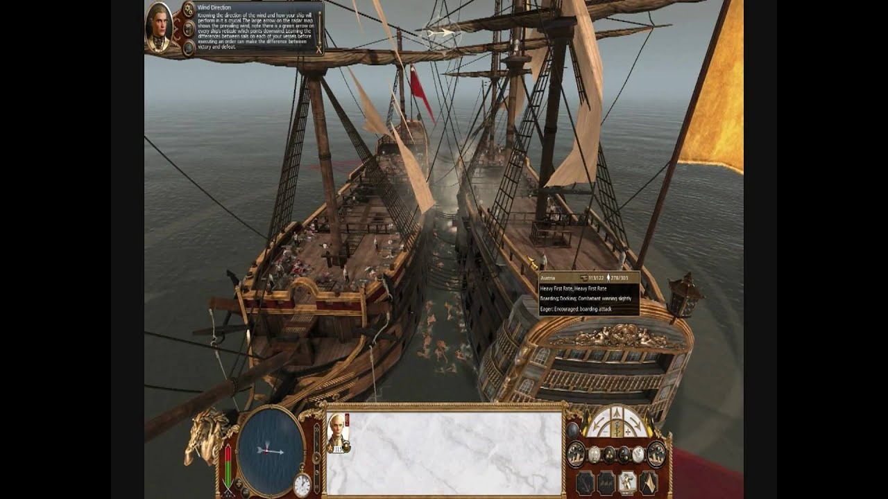 Empire Total War Heavy 1st Rate Boarding