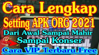 CARA SETTING ORG 2021 APLIKASI MUSIK ORGAN TUNGGAL DI HP ANDROID DARI AWAL SAMPAI MAHIR ! VIP GRATIS