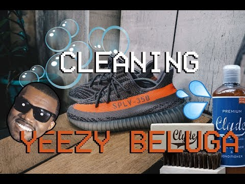 Cleaning The Yeezy Belugas. DO SNEAKER CLEANING SOLUTIONS REALLY WORK?!?!?