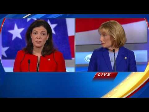Kelly Ayotte Destroys Maggie Hassan On Supporting Hillary Clinton's Lack Of Cyber Security