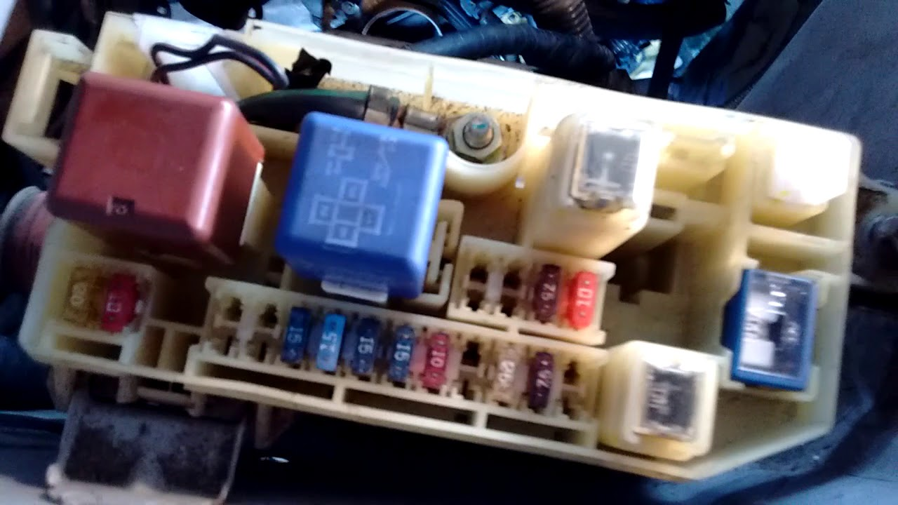 medium resolution of how to disconnect the engine harness from the fusebox toyota mr2 how to disconnect the engine