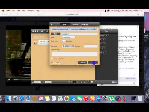 Download videos on mac with folx