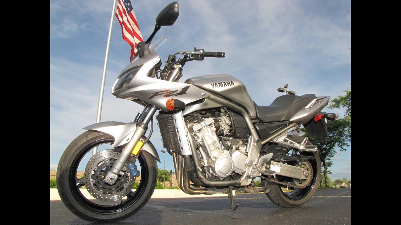 2002 Yamaha FZ1 FZS10 - YouTube