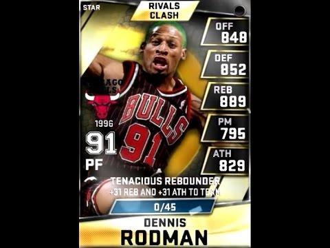 MyNBA2K15 Rivals Clash 2015 - STAR Dennis Rodman