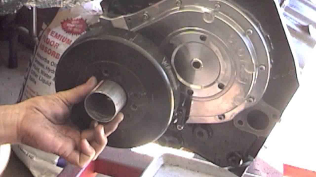 Chevy BBC 454 Harmonic Damper Balancer Bolt