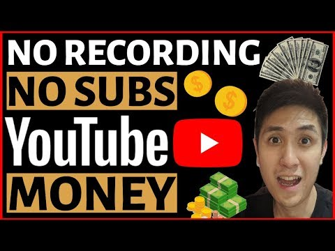 How to Make Money On YouTube Without Recording Videos, With 0 Subscribers! (Full Walk-through)
