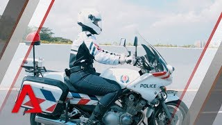 Being a female Traffic Police officer in Singapore