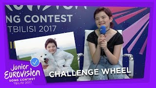 CHALLENGE WHEEL WITH MUIREANN MCDONNELL FROM IRELAND! 🇮🇪 Top 10 Video