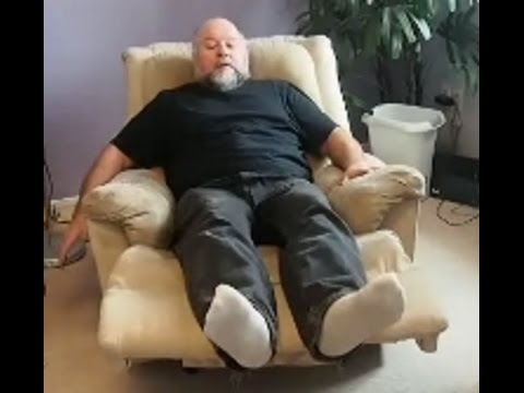 Repairing A Broken Reclining Chair Ii Youtube