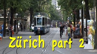 Zurich, Switzerland part 2: Bahnhofstrasse, trams, museums, Zug thumbnail
