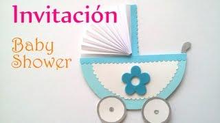 Manualidades: INVITACIONES para BABY SHOWER - Innova Manualidades