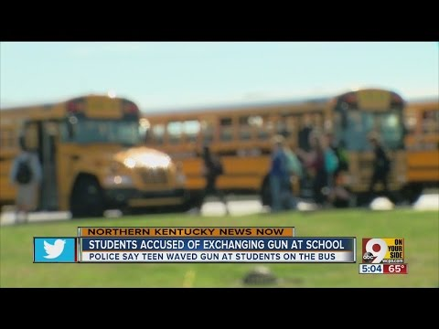 Students accused of exchanging gun at school