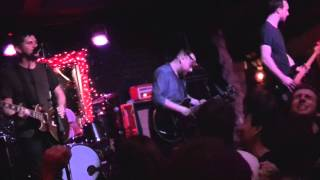 The Menzingers at The Bottom of the Hill, San Francisco, CA 2/3/14 [PARTIAL SET]