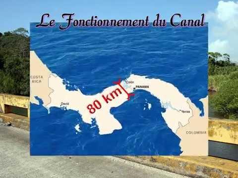 Toute l'histoire du Canal du Panama.