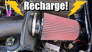 How To Recharge Your Cold Air Intake Filter: Clean and Re-Oil