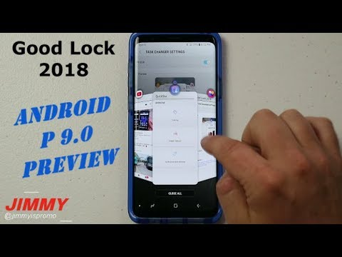 Samsung Good Lock 2018 - Android P 9.0 Preview!!