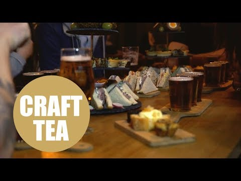 Brewery launches boozy alternative to the traditional English afternoon tea