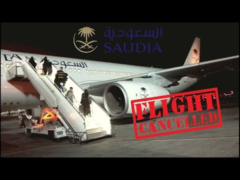 CANCELLED Saudia Flight Review Riyadh-Jeddah A332 operated by Onur Air SV1043/SV8043